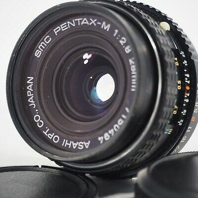 """N Mint"" SMC PENTAX-M 28mm F/2.8 K Mount Wide Angle MF Lens from JAPAN 227"