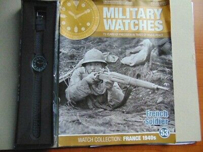 Military Watches Eaglemoss Collection 1940 French Soldier (53) With Magazine