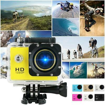 PRO CAM SPORT ACTION CAMERA HD 1080P VIDEOCAMERA DVR DV CAMCRODER Colore casuale