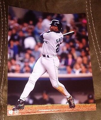 d5bdcdf758 Ken Griffey Jr. 8x10 color photo Seattle Mariners New Old Stock Swinging Bat
