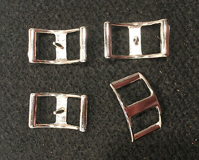 """Buckle - Conway - 1"""" - Nickle Plated - Pack of 24 (F364)"""