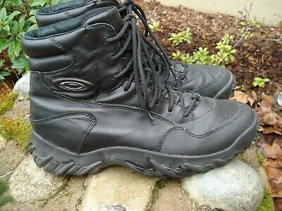 f769f277b41 OAKLEY ELITE SPECIAL Forces Assault Black Leather Tactical Boots Mens Size 9