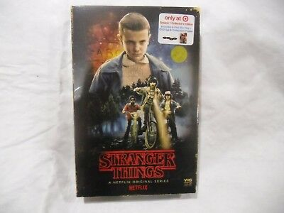 Brand New Stranger Things Season 1, Collector's Ed., Target Exclusive, 4-Disc.+!