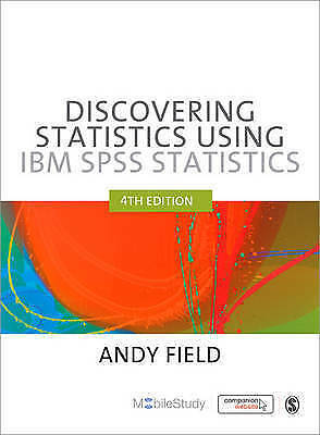 Discovering statistics using IBM SPSS 4th Edition 2014 like NEW 9781446249185