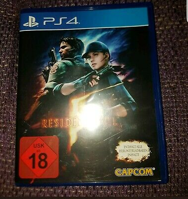 Resident Evil 5, PS4, Playstation 4, FSK 18