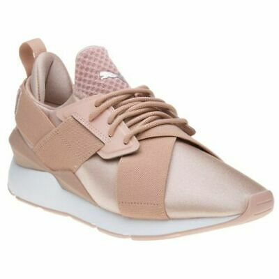 bb0879b28dd6 PUMA MUSE SATIN EP Pearl Women s Textile Mid-Top Ballet Inspired ...