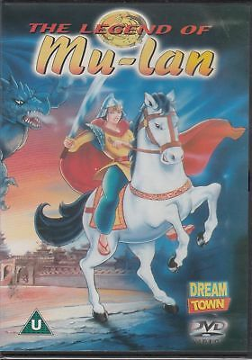The Legend Of Mu-Lan Dvd [Anime / Fantasy] *brand New And Sealed**free Postage*