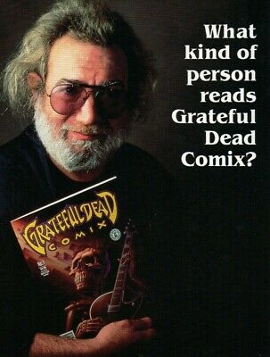 GRATEFUL DEAD Comix Kitchen Sink Comix 1991 Issues #1, #2, #3, #4 AVAILABLE