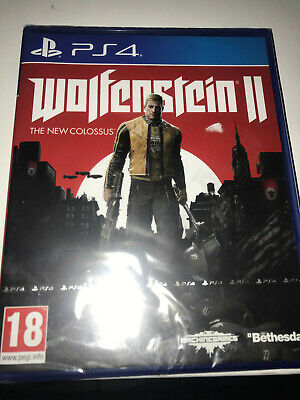 wolfenstein 2  jeux ps4 neuf sous blister