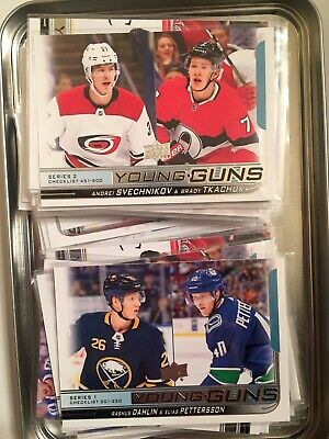 2018-2019 Upper Deck Series 1&2 YOUNG GUNS - pick your own