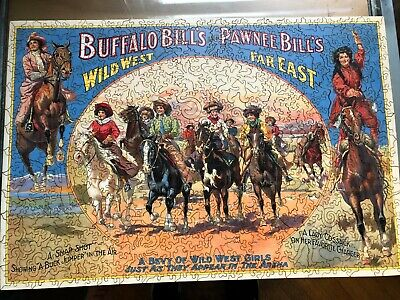 """Liberty Wooden Puzzles """"A Bevy of Wild West Women"""" 477 pieces"""