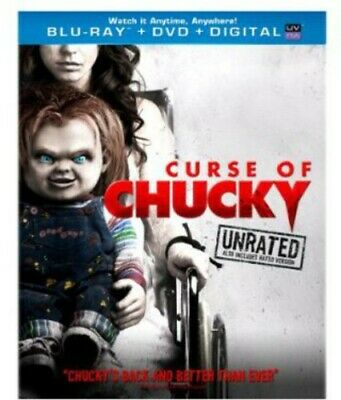 Curse of Chucky (Blu-ray/DVD, 2013, 2-Disc Set, Unrated Inc. Digital Copy) NEW