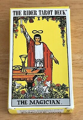 Rider-Waite Tarot Deck 2007,Pamela Colman Smith, Unused Complete, US Games