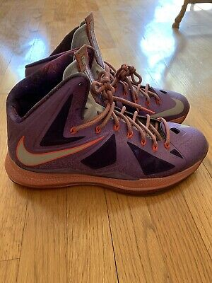 sale retailer 0213f 50223 NIKE LEBRON X 10 AS AREA 72 ALL STAR -Size 12
