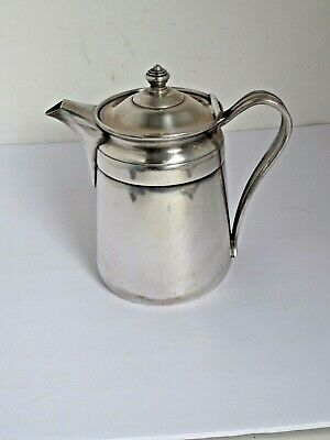 Vintage Sheraton Hotel Reed & Barton Silver Plate Coffee / Water Pitcher Pot