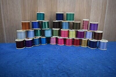 Collection of Cotton Spools Sewing Singer Sewing