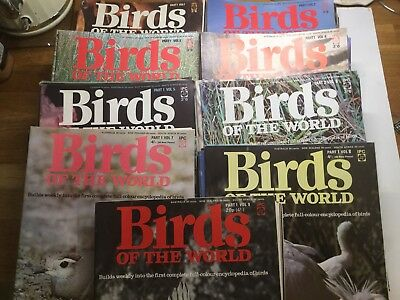 Birds Of The World Part Work Set  - 9 Complete Volumes Other Than 2 Issues