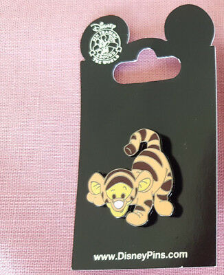 Disney Parks Pin Baby Tigger Ready To Pounce New On Card Open Edition Rack NOC