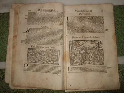 1550s,MUENSTER,47SHEETS/62ENGR.ITALY,ITALIA,ROME,MILAN,VENICE,NAPLES,FLORENCE