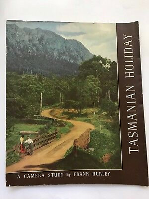 1950s vintage TASMANIAN HOLIDAY A Camera Study by Frank Hurley book 1951