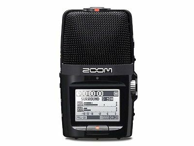 ZOOM H2n + WSU-1 Handy Portable Recorder and Windscreen Linear PCM H2Next