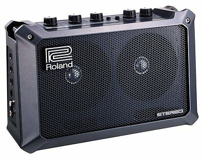 Roland MB-CUBE Mobile Cube Battery Powered Stereo Amplifier