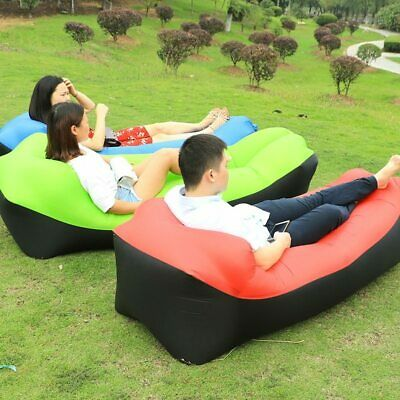2019 New Outdoor Beach lazy sofa bag sleeping inflatable pillow Air sofa bed laz