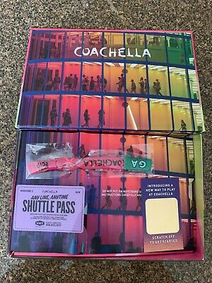Coachella Weekend 2 GA admission and shuttle pass