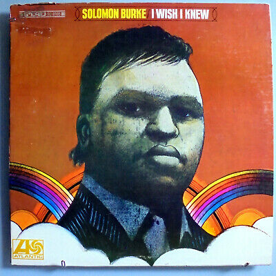 Solomon Burke~I Wish I Knew~Rare Orig '68 Atlantic Promo Stereo Lp~Beautiful