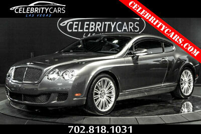 2008 Bentley Continental GT 2dr Coupe Speed 2008 Bentley GT Speed in Granite Grey with Burgundy Continental