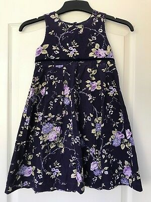 7f3105b3c07a Beautiful Laura Ashley Mother & Child Vintage Cord Pinafore Dress Age 5