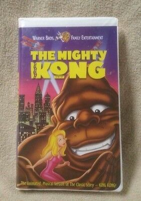 THE MIGHTY KONG Vhs Video 1998 Animated Musical Movie Warner Bros. Lana Film Co.