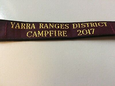 Girl Guides / Scouts Yarra Ranges Campfire