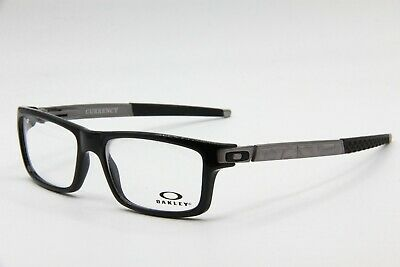 a31ca1d50d New Oakley Ox8026-0554 Black Currency Authentic Eyeglasses Frame Rx 54-17