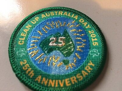 Girl Guides / Scouts Clean Up Australia 2015 25th Anniversary