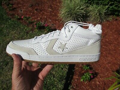 efab4a673cd0 Converse Fastbreak 83 Mid White Gum Soles Size 11.5 New In Box
