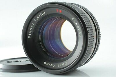 """""""MINT"""" Contax Carl Zeiss Planar T* 50mm F/1.4 AEJ MF Lens For CY From JAPAN #313"""