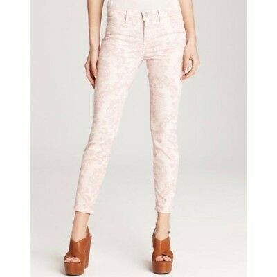 27021730ace J Brand Midrise Capri in Romantic Floral Pink Blush - Size 31 - Skinny $238