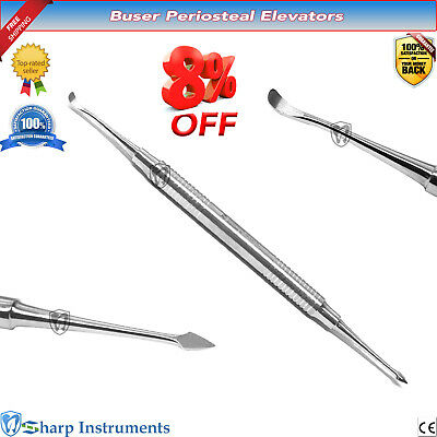 Buser Periosteal Elevators Retracting Mucoperiosteum Double Ended Instruments CE
