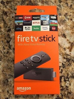 Brand New Amazon Fire TV Stick 2nd Generation with Alexa Voice Remote