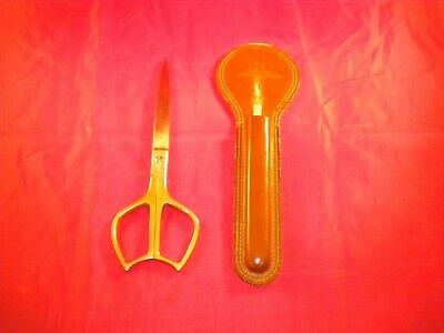 United Italy Scissors with Leather sheath L@@K!!