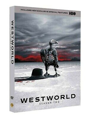 Westworld: The Second Season 2 Two DVD, 2018, 3-Disc Set US SELLER