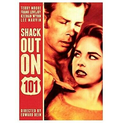 Shack Out on 101 (DVD, 2013) Lee Marvin, Terry Moore 1955 Film Noir Edward Dein