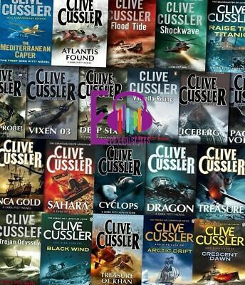Dirk Pitt Series by Clive Cussler - The Complete Audiobook Collection