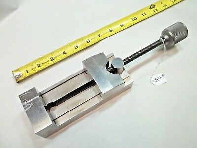 """Toolmakers Vise Made by Toolmaker, 2.500"""" W x 1.975"""" T x 6-1/2"""" L Opens to 3.18"""""""