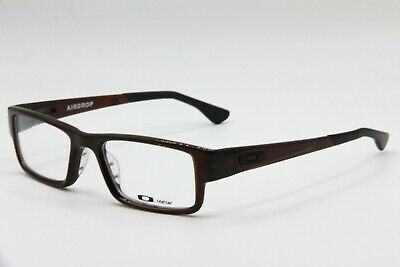 New Oakley Ox8046-0651 Rootbeer Airdrop Authentic Eyeglasses Frame Rx 51-18