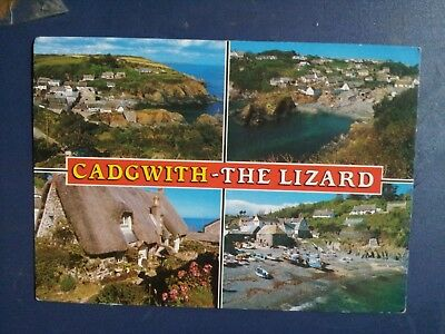 postcard cadgwith the lizard