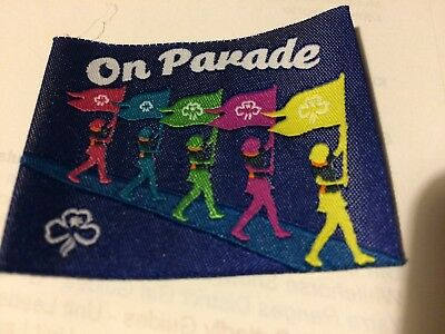 Girl Guides / Scouts On Parade