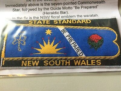 Girl Guides / Scouts State Standard New South Wales