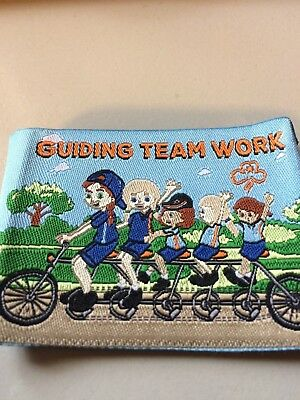 Girl Guides / Scouts Guiding Team Work